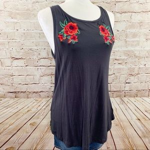 American Eagle soft & sexy rose tank top